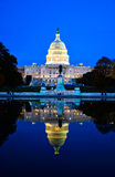 Le bâtiment de capitol, Washington DC, Etats-Unis Image stock