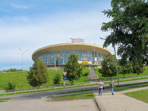 Le bâtiment de cirque en Samara Image stock