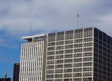 Le bâtiment de façade de l'université de Flinders est une université publique à Adelaïde, Australie du sud photos libres de droits