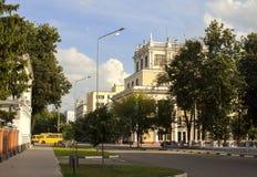 Le bâtiment de l'académie médicale d'état d'Ivanovo Photos libres de droits