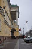 Le bâtiment de l'hôtel Photo stock