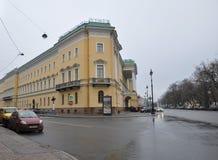 Le bâtiment de l'hôtel photo libre de droits