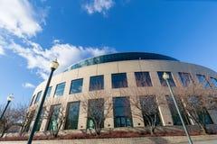 Le bâtiment de l'Orégon Convention Center, celui est situé sur les eas image stock