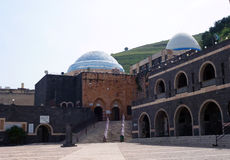 Le bâtiment de la synagogue Image libre de droits