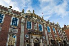 Le bâtiment de palais de corporations à Worcester Photos libres de droits