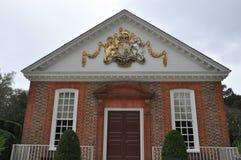Le bâtiment de palais des Gouverneurs à Williamsburg colonial, la Virginie Photo stock