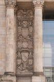 Le bâtiment de Reichstag à Berlin Photographie stock libre de droits