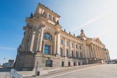 Le bâtiment de Reichstag - bâtiment allemand du parlement à Berlin Images stock