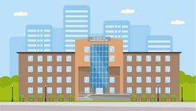 Le bâtiment du centre pour la reproduction humaine Insémination artificielle, fécondation in vitro, traitement de Photographie stock libre de droits