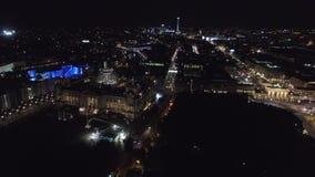 Le bâtiment du Reichstag Berlin/Allemagne banque de vidéos