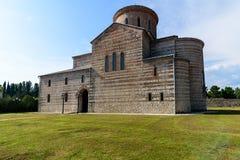 Le bâtiment du temple du 14ème siècle Images libres de droits
