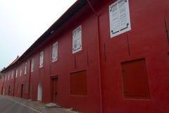 Le bâtiment historique dans la ville de Melaka, Malaisie Image libre de droits