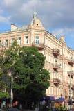 Le bâtiment historique du 19ème siècle Photographie stock