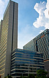 Le bâtiment moderne dans la ville de Canton Image stock