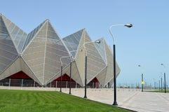 Le bâtiment moderne du centre de concert Image stock