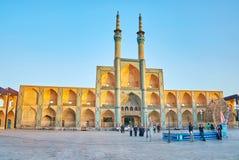 Le bâtiment le plus beau dans Yazd Photographie stock