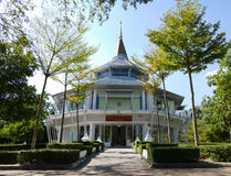 Le bâtiment pour améliorer le roi en université de Chiang Mai Photos libres de droits