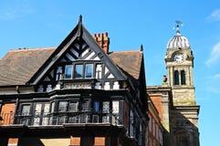 Le bâtiment royal de chêne, Derby Images libres de droits