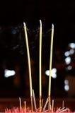 Le bâton d'encens Photo libre de droits