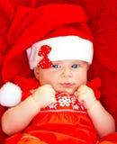 Le bébé célèbrent Noël photos stock