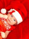 Le bébé célèbrent Noël Photo stock