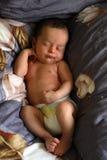 Le bébé de sommeil image stock