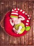 Le bébé nouveau-né Photographie stock libre de droits