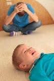 Parenting difficile image libre de droits