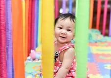 Le bébé soit sourire mignon Image stock