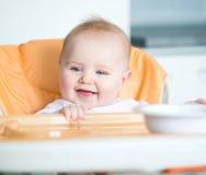 Le bébé va manger photographie stock libre de droits