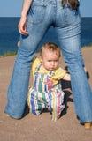 Le babe-5 effrayé Photos libres de droits