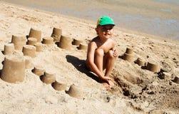 Le bac à sable Images libres de droits