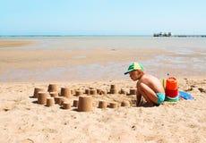 Le bac à sable Photographie stock libre de droits