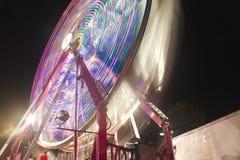 Le bac juste de carnaval roulent dedans la vitesse Image libre de droits