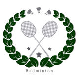 Le badminton de thème Images libres de droits