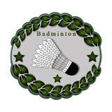 Le badminton de thème Image libre de droits