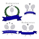 Le badminton de thème Photos libres de droits