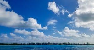 Le Bahamas, mezza luna Cay October 10, 2017 Fotografia Stock Libera da Diritti