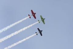Le BAHRAIN le 17 décembre 2011 : Jour national Airshow du Bahrain Photos libres de droits