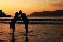 Le baiser Photos libres de droits