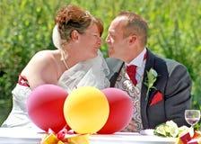 Le baiser de l'amour Images libres de droits