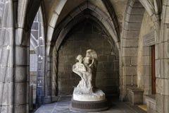 Le Baiser de la Gloire, ett marmorarbete Royaltyfria Bilder
