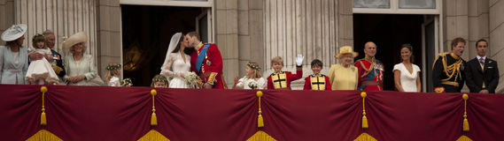 Le baiser royal Images libres de droits