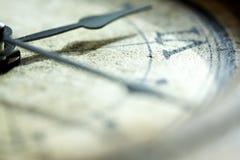 Le balayage du temps Photos stock
