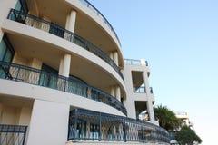 Balcon d'hôtel de luxe Photographie stock libre de droits