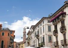 Le balcon de Romeo et de Juliet à Vérone, Italy Image libre de droits