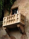 Le balcon Vérone de Juliet Images stock