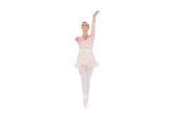 Le ballerina med henne fördjupade armar royaltyfria foton