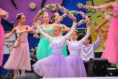 Le ballet des enfants russes Image libre de droits