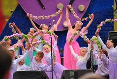 Le ballet des enfants russes Photos stock